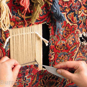 Hand Rug Repair & Reweaving in Seattle & Bellevue