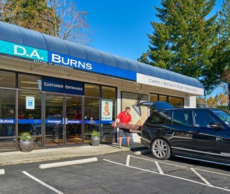 Bellevue Location D A Burns Carpet Cleaners In Bellevue Wa